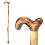 Wood Cane With Derby…
