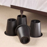 Black Bed Risers -…