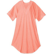 V Neck Coral Terry…