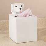 Playful Dog Tissue…