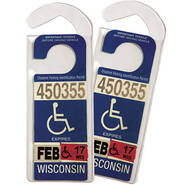 Handicap Placard Set…